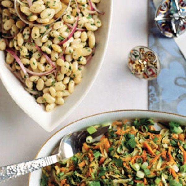 White Bean Salad With Lemon And Cumin Recipe White Bean Salad Cumin Recipes Bean Salad