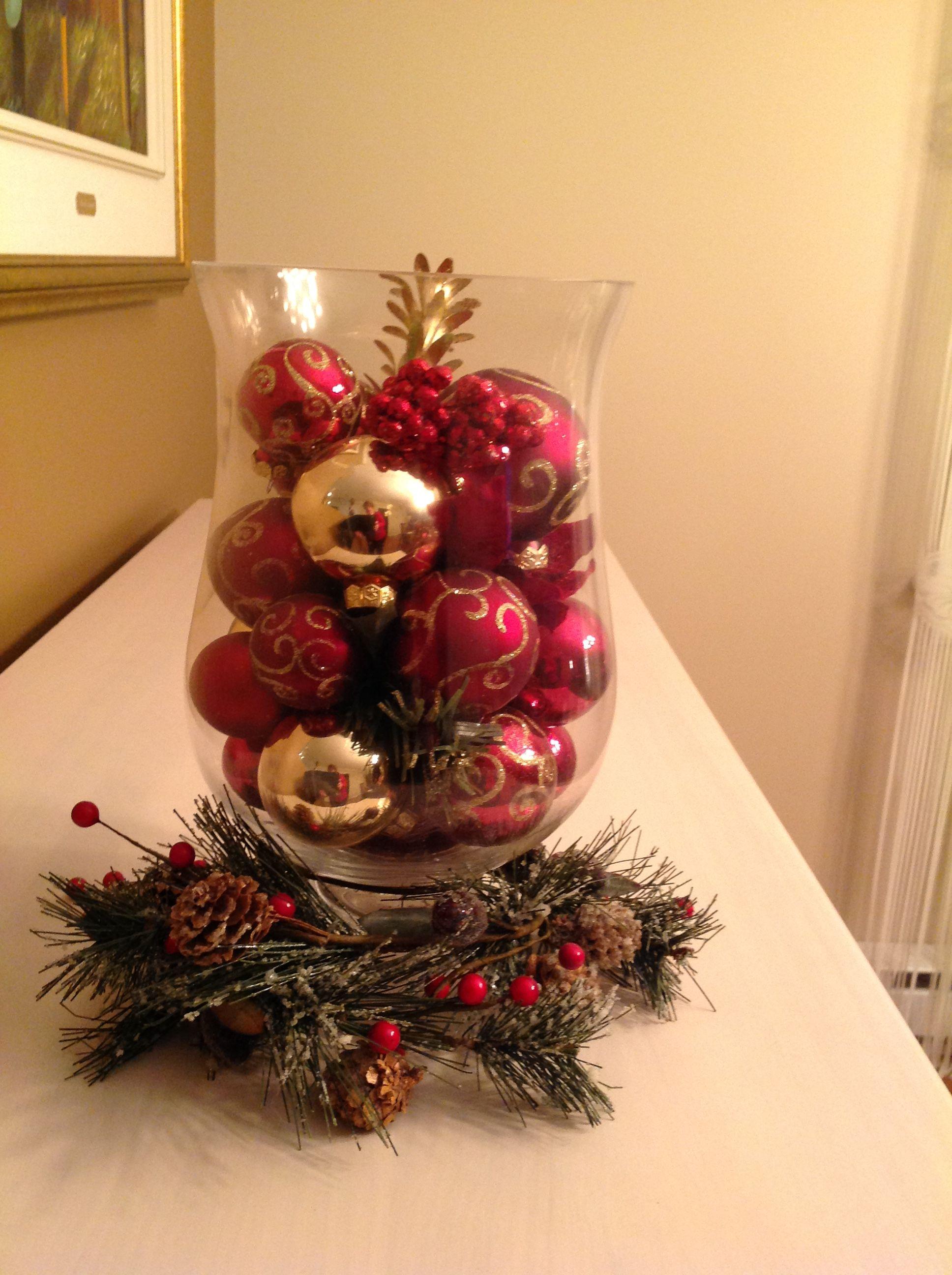 Une décoration de Noël toute simple Christmas wonderland