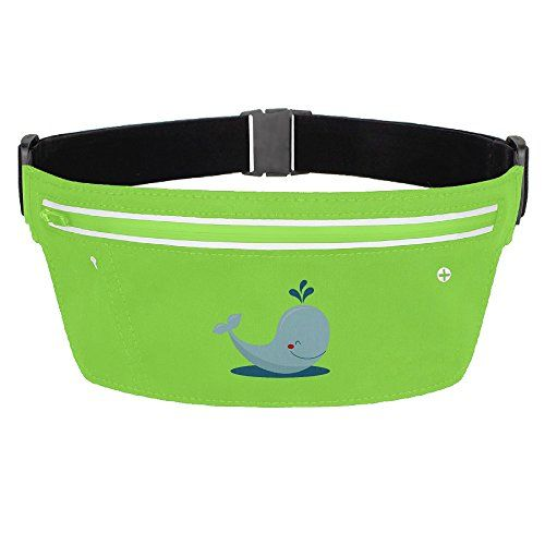 Funny Blue Whale Sport Waist Packs Fanny Pack Adjustable For Travel