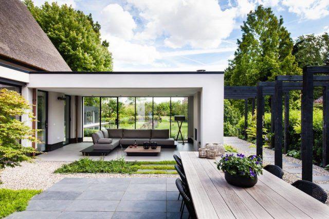 Trivium tuin ideeën tuin ontwerp luxury garden design hoog