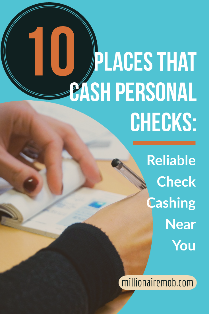 10 Places That Cash Personal Checks Find Reliable Check Cashing Personal Checks Money Saving Tips Paying Off Credit Cards