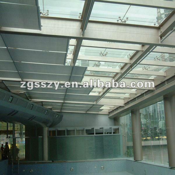 Fts de desplazamiento persianas techo persianas de rodillo ventana sombra tragaluz del techo al - Cortinas para tragaluz ...