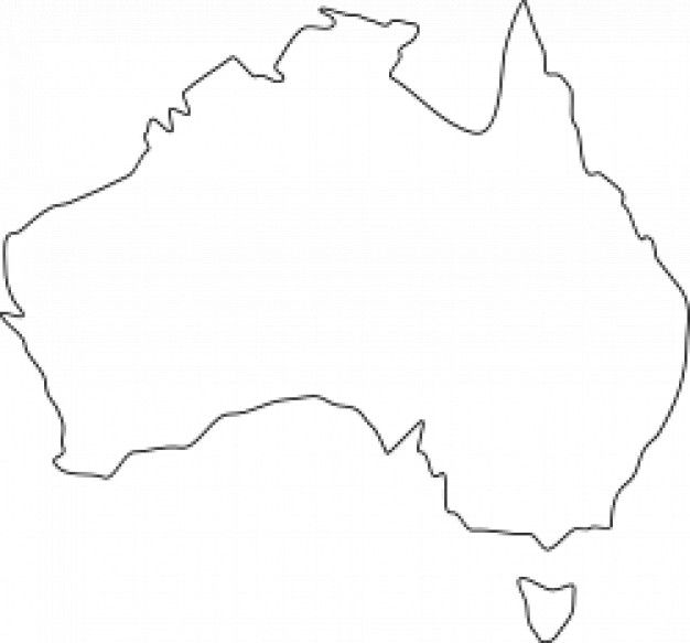 Australia Map Svg.Australia Map Crafts For Kids Australia Map Vector Free Crafts