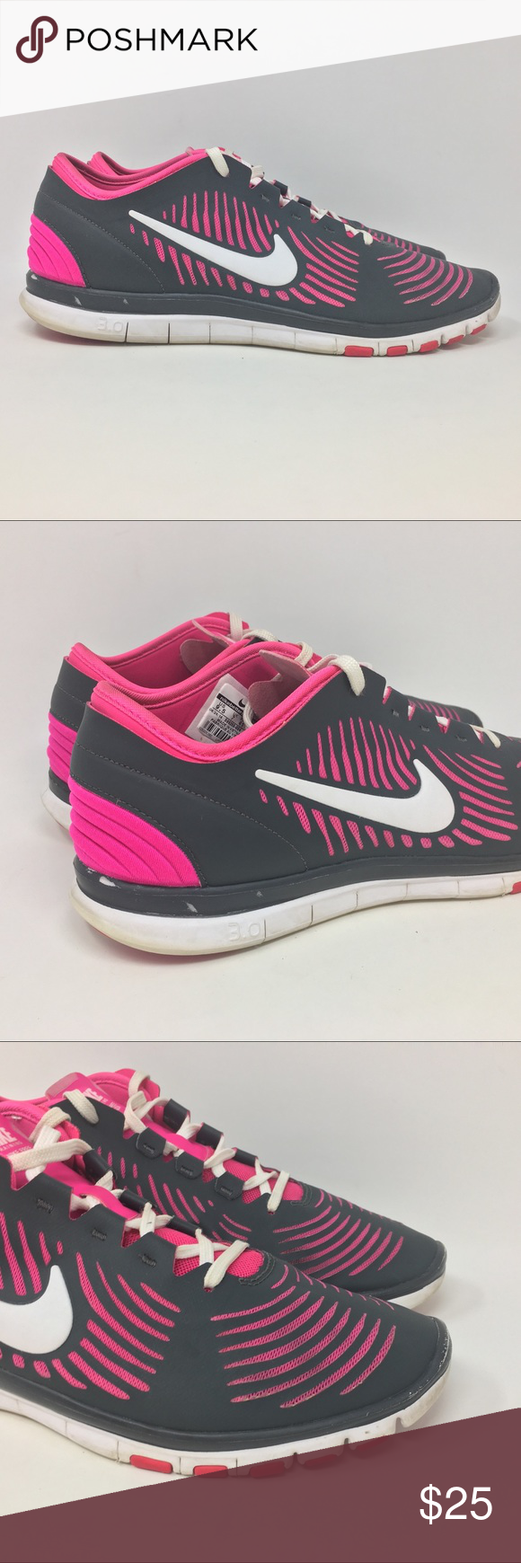 best cheap 2a78a ae07b Nike Free Balanza Womens 9.5 Running Shoes D23 Nike Free Balanza Womens  Size 9.5 Training Running Shoes Grey White Pink D23 Shoes are in good used  condition ...