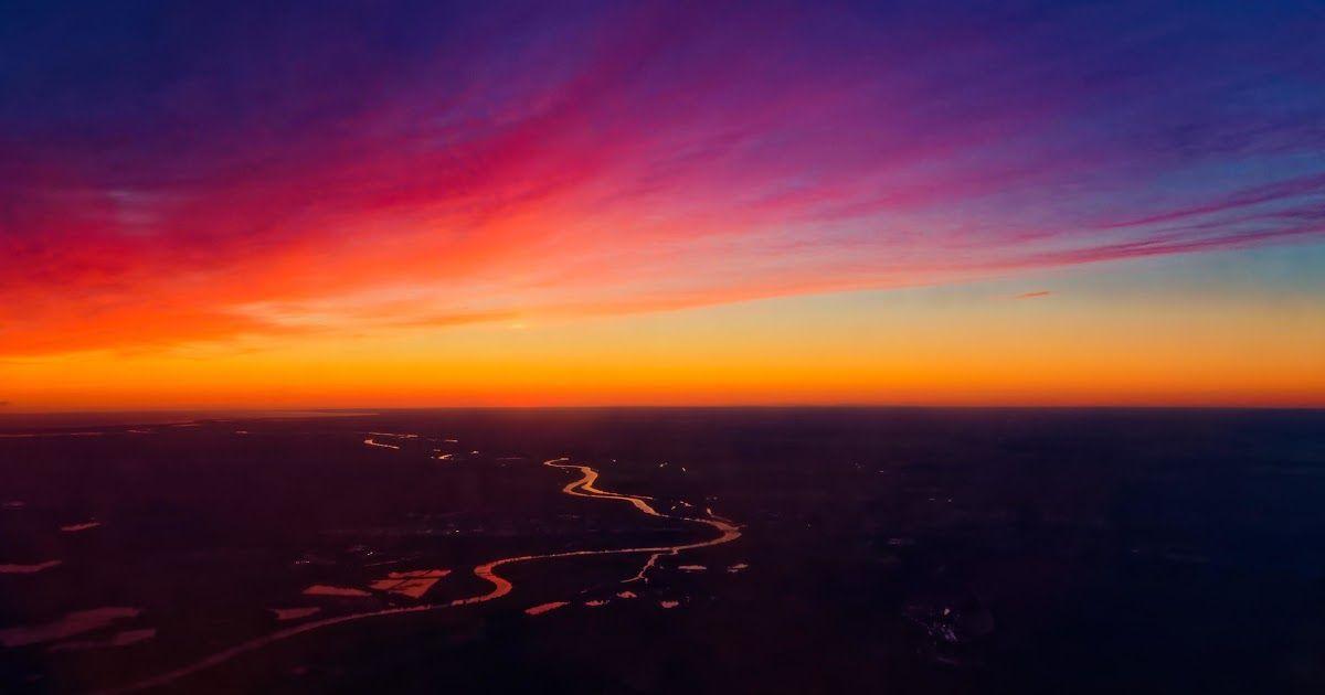 23 Foto Pemandangan Saat Matahari Terbenam Di 2020 Matahari
