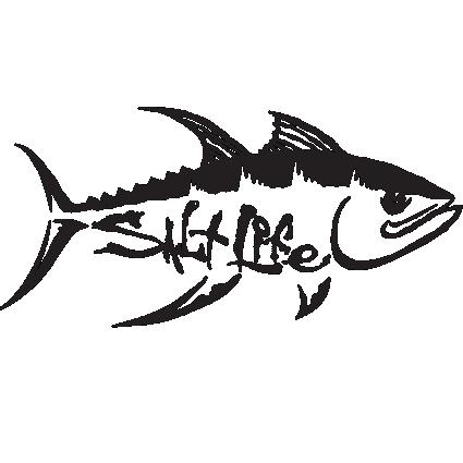 Marlin Fishing Decal,Saltwater fish,sticker,offshore,reel,salt,life,car sticker