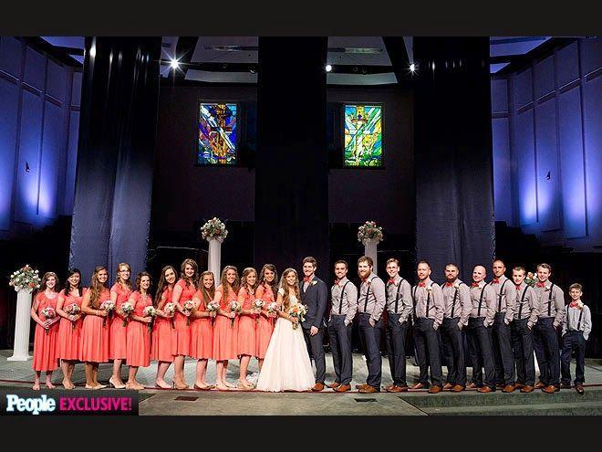 Jessa Duggar Wedding To Ben Seewald Photos 19 Kids