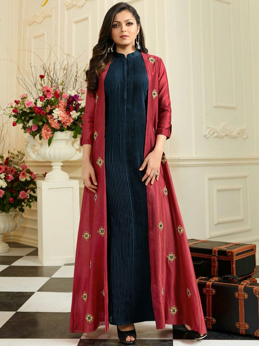 848d7f993c67 Kurti Designs Party Wear, Party Wear Kurtis, Party Wear Dresses, Kurta  Designs,