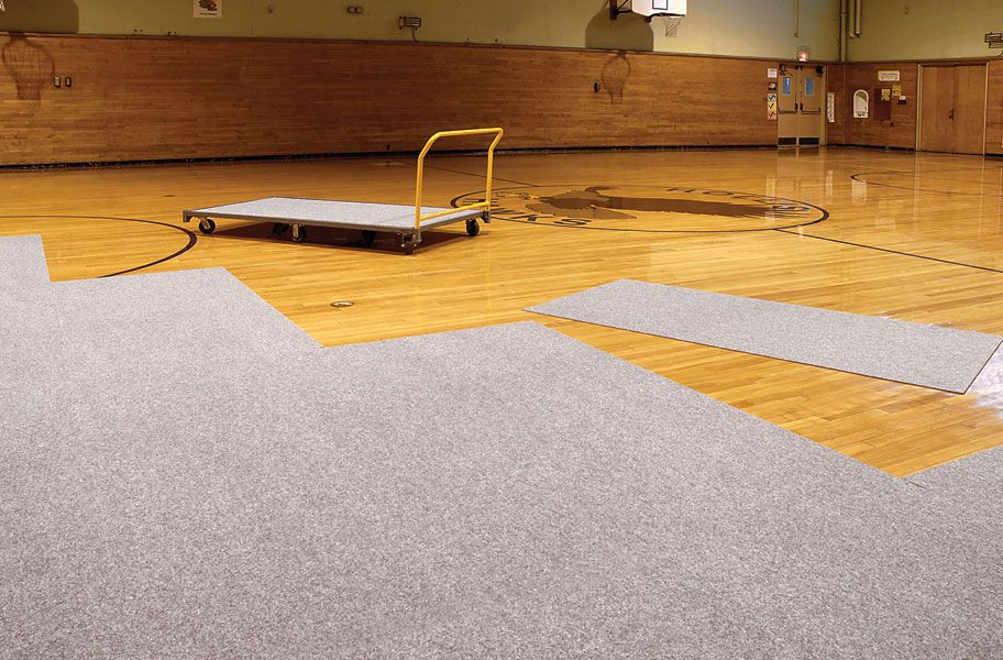 Gym Floor Cover Tiles Easy To Install Gymnasium Protectors