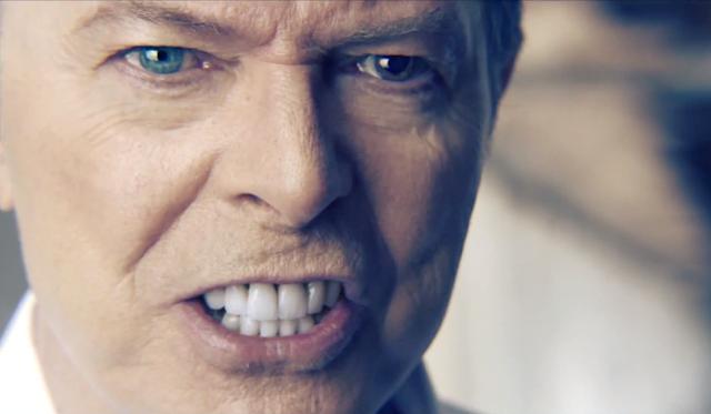 """""""Valentine's Day"""" video still, David Bowie, 2013."""