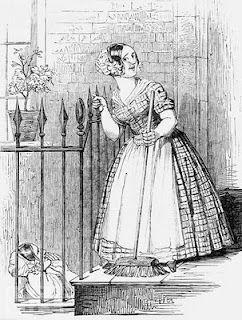 Criada. Gravura de 1849.