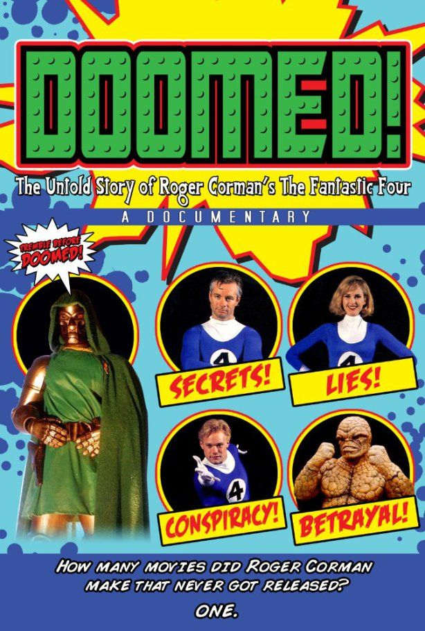 DOOMED! The Untold Story of Roger Corman's The Fantastic Four gets a release…