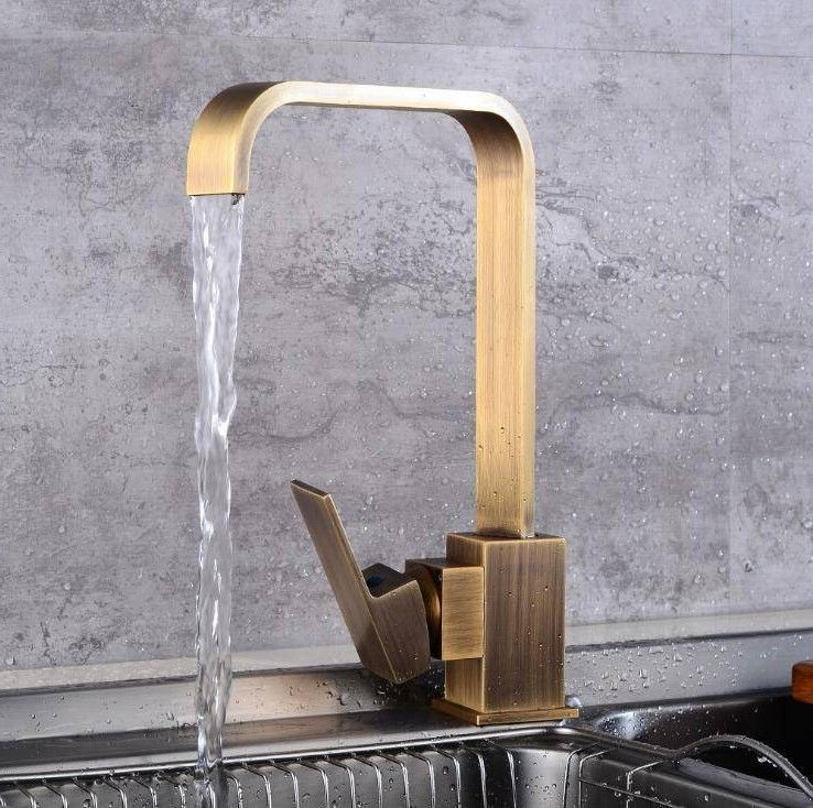 New Kitchen Faucets Kitchen Water Tap Antique Black Kitchen Sink Faucet Single Handle Tall Sp In 2020 Kitchen Sink Faucets Kitchen Faucet Black Kitchen Sink