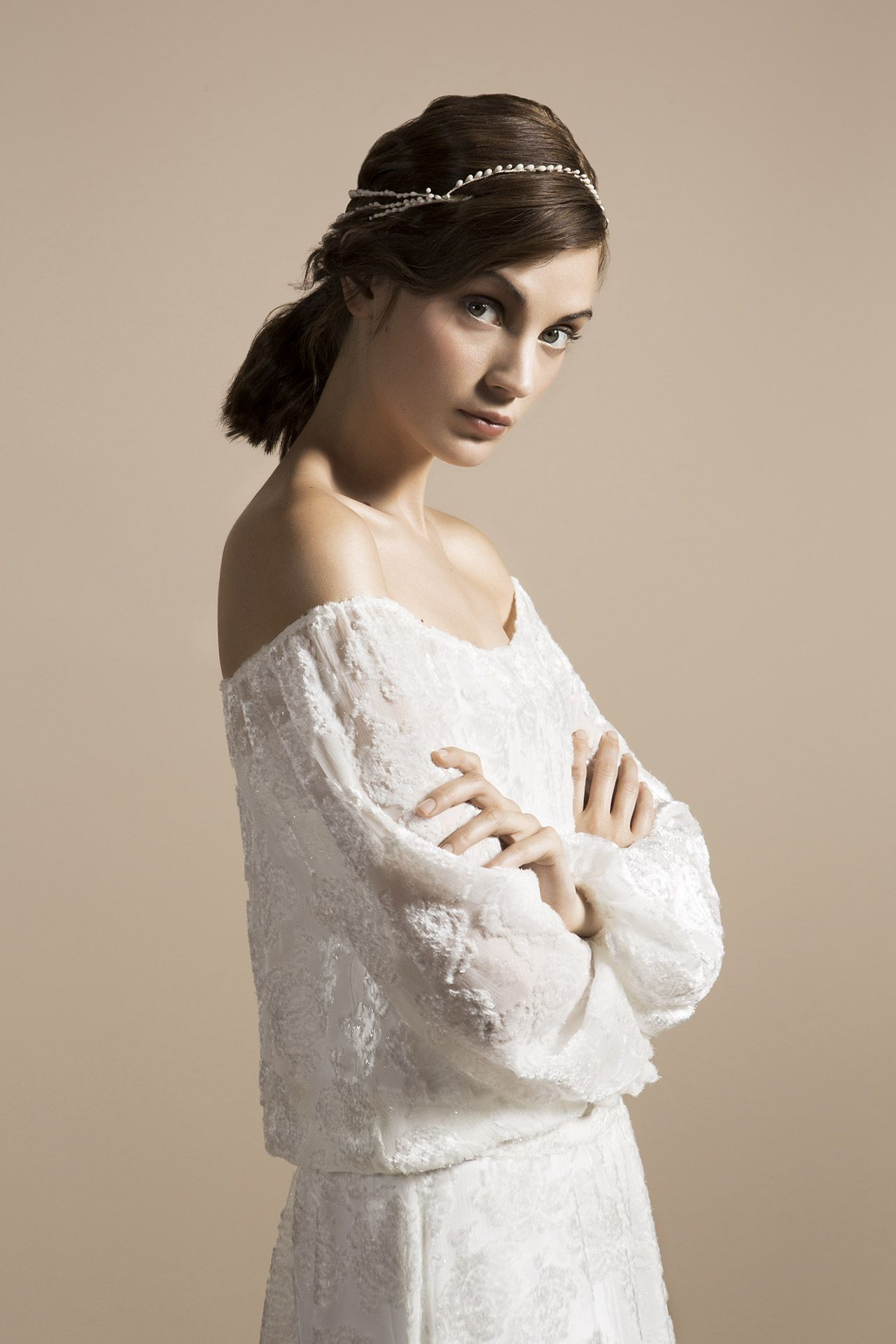 Delphine Manivet - Wedding dress designer Paris : Pearly pistils ...
