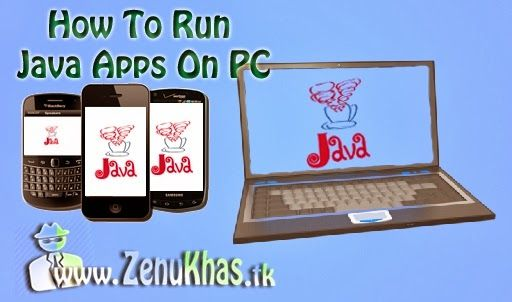 How To Run Java Mobile Apps (J2ME) On PC?? #J2ME