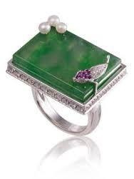 Image result for modern jadeite with gemstones design