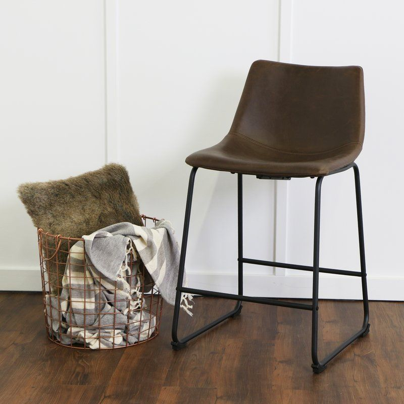 Mary Kate Counter Amp Bar Stool Leather Counter Stools