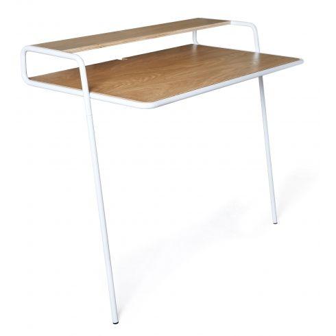 Bisceglie Leaning Desk   White   Alt_image_one Mehr
