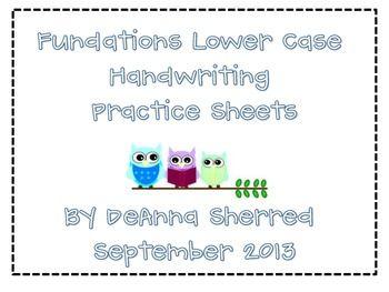 Fundations Handwriting Worksheets. Fundations. Free Worksheet Sample