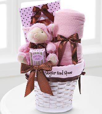 Cute Baby Girl Gifts | DealRocker.com: Cute Gift Baskets for New ...