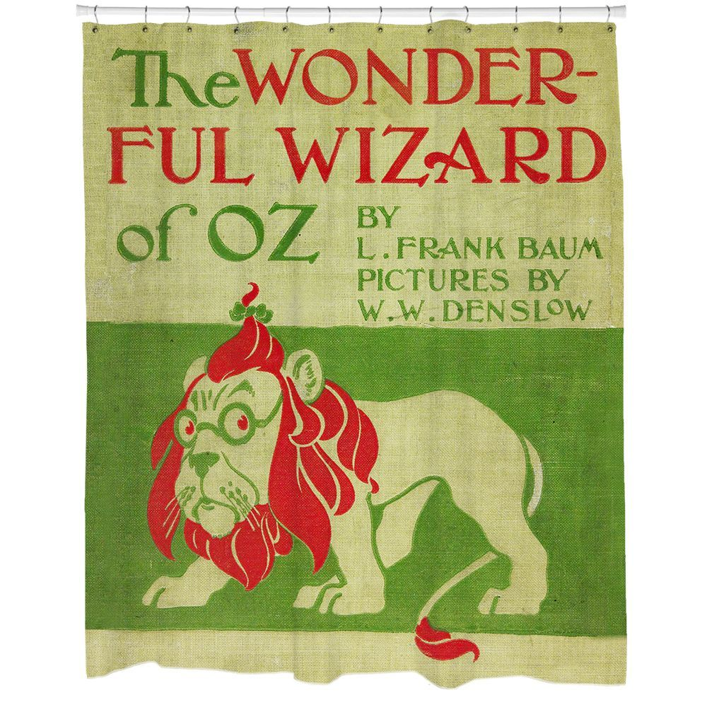 Wizard of Oz Shower Curtain | Percents, Decking and Bath decor