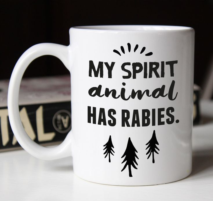 Spirit Animal unique coffee mug, bestfriend gift, best friend gift, gift for her, inspirational mug, funny coffee mugs, funny mugs #funnycoffeemugs