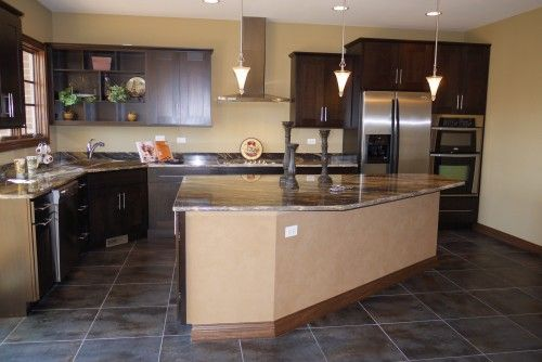 Odd Shaped Kitchen Island