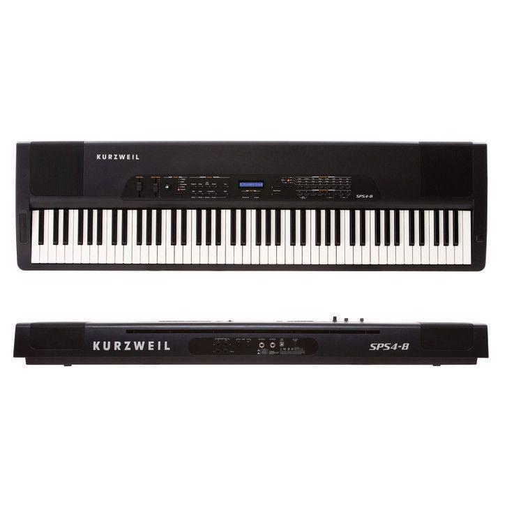 kurzweil sps4-8 piano portable noir