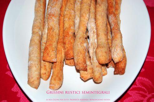 Grissini rustici semintegrali