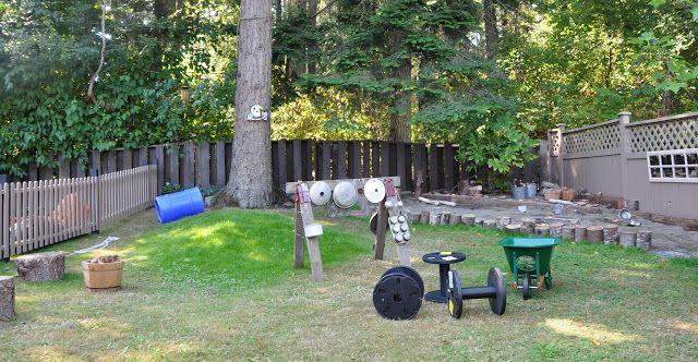 Natural Playground Inspiration- A Waldorf Backyard ...