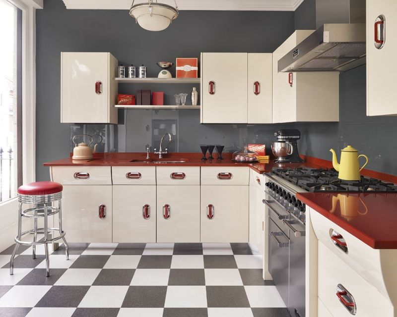 1950s Retro Kitchen Clic Creme De La If I Ever Win The Lottery