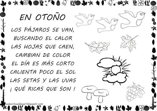 Trabajando En Educacion Infantil 10 Poesias Para El Otono Poemas De Otono Poesia Otono Actividades De Otono
