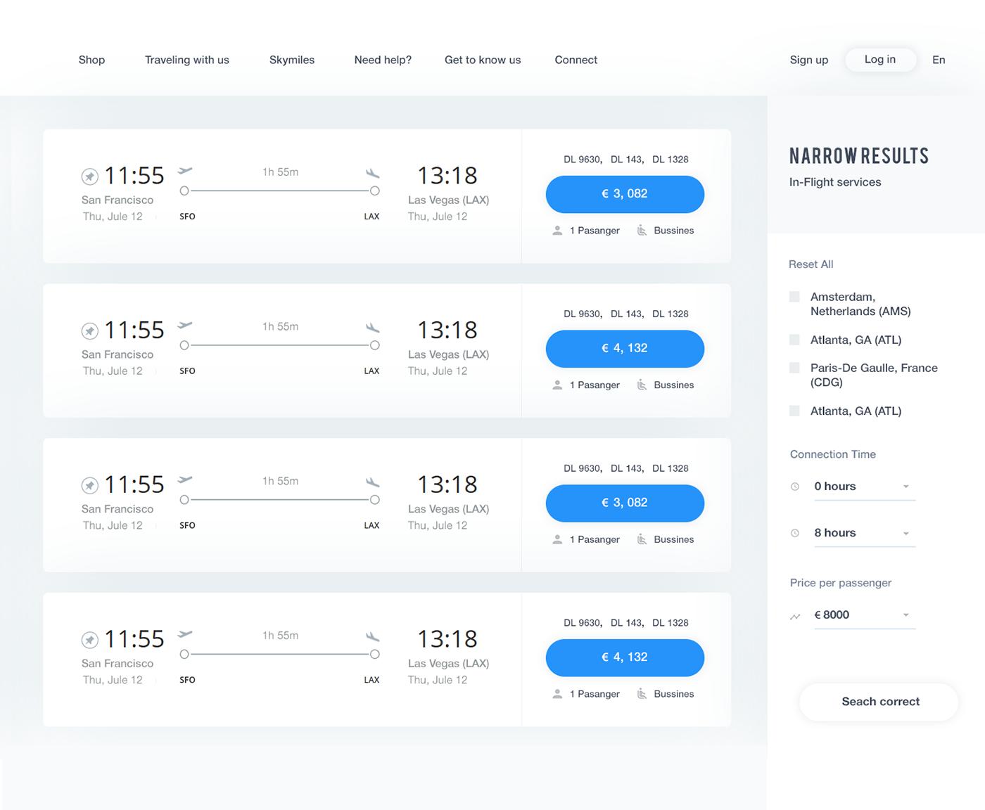 Website Delta Air Lines on Behance(이미지 포함) 포트폴리오 디자인, 잡지