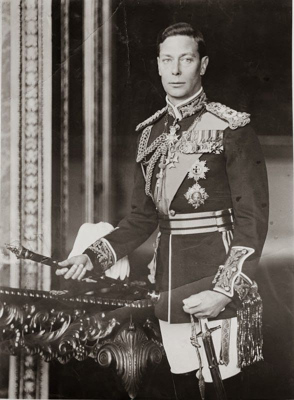 Two Nerdy History Girls: Casual Friday: Portrait of King George VI - Link to a documentary.
