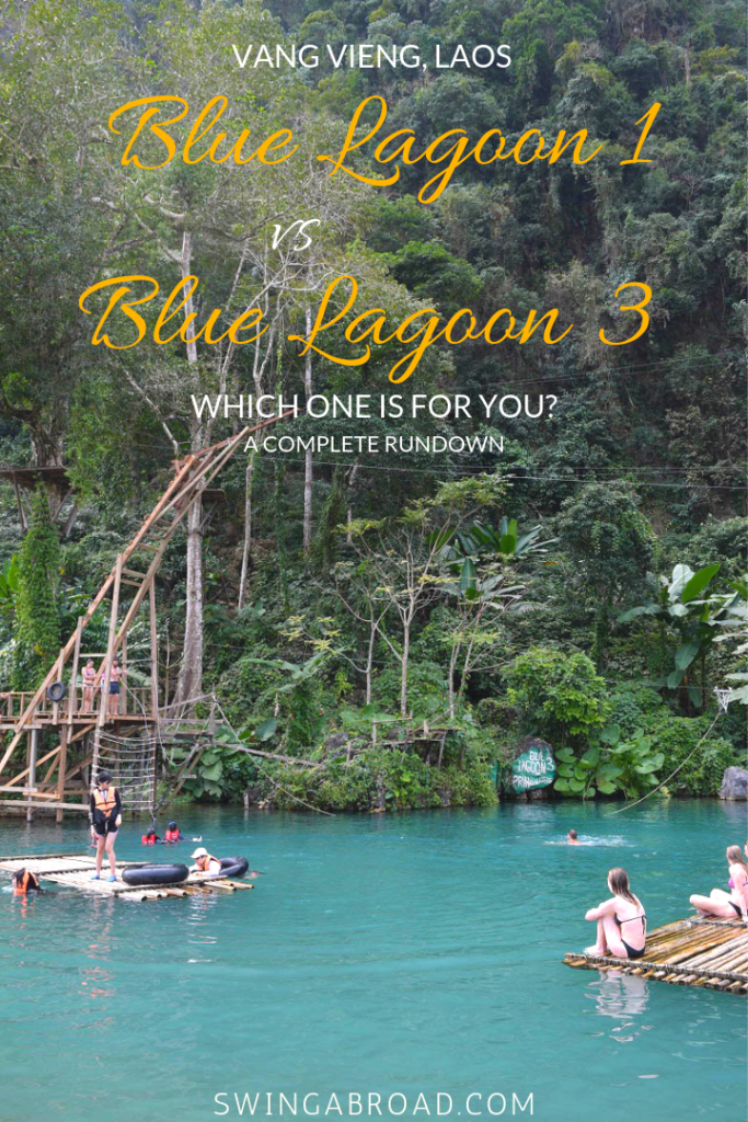 Vang Vieng Blue Lagoon 1 Blue Lagoon 3 Which One Is For You Laos Travel Laos Asia Travel