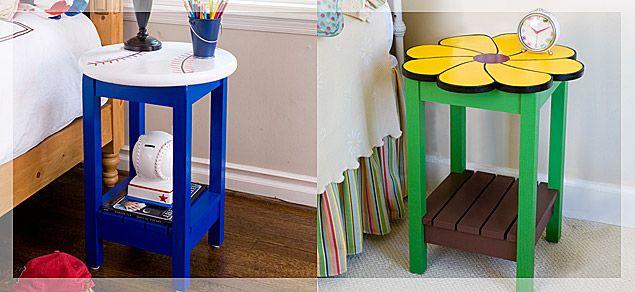 Creative Ideas Child S Nightstand Diy Nightstand Kids Room