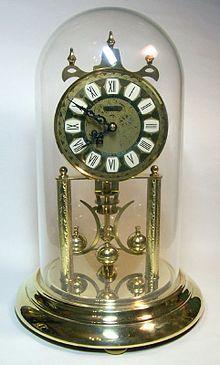 Torsion Pendulum Clock Wikipedia The Free Encyclopedia Pendulum Clock Clock Anniversary Clock