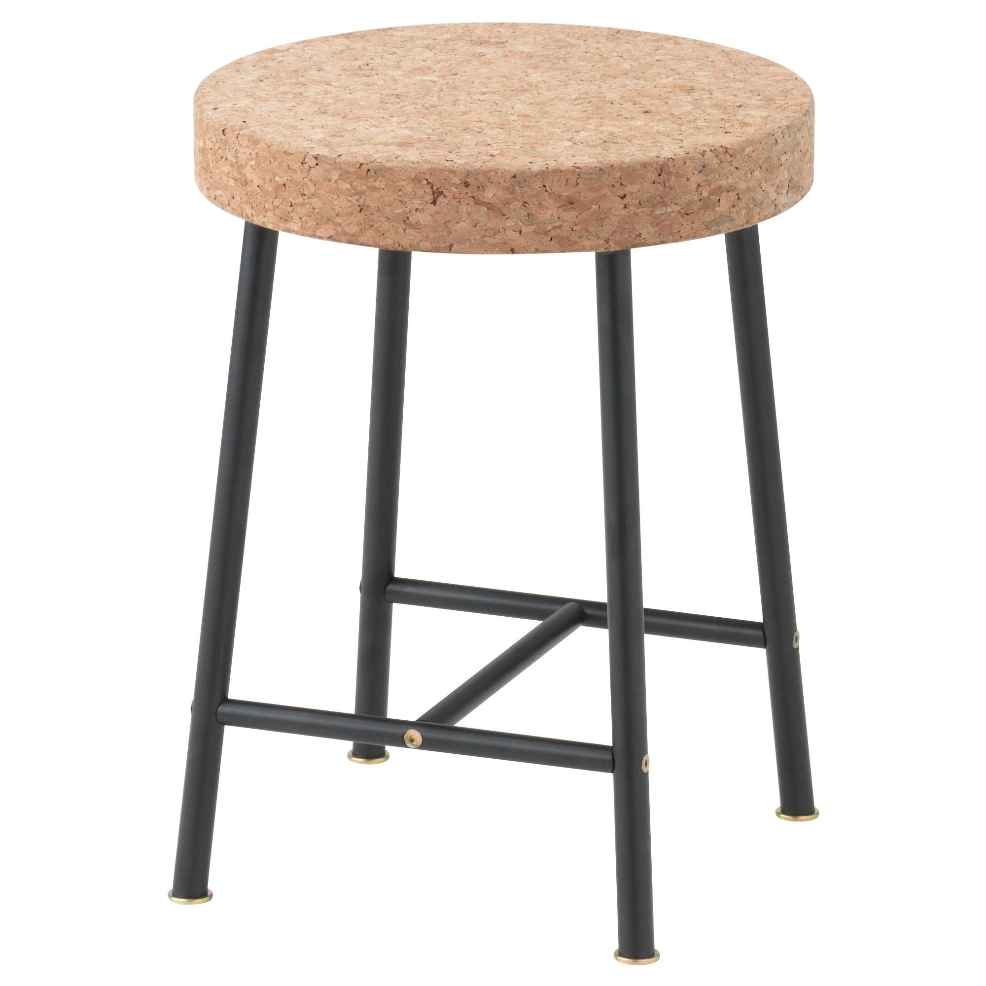 Ikea Sinnerlig Stool Cork Is A Soft Dirt Repellent