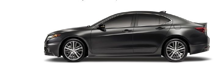 Acura TLX Shown With Aero Kit Decklid Spoiler In ChromeLook - 2018 acura tl body kit