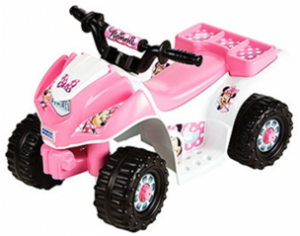Power Wheels Fisher Price 6 Volt Lil Quad Ride Minnie