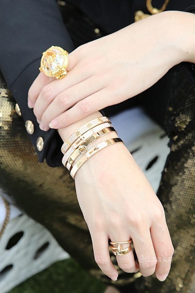 Hermes Men Nail Ring