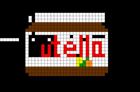 Resultado De Imagem Para Pixel Art Nutella Dessin Pixel