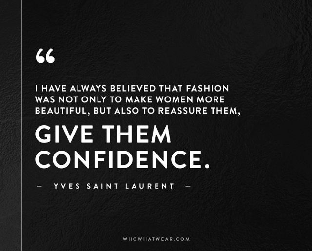 The Most Inspiring Fashion Quotes of All Time | Fashion ...