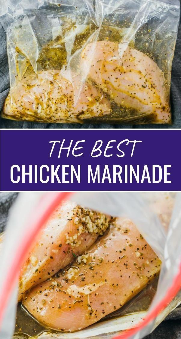 Easy All-Purpose Chicken Marinade Recipe #chickenrecipes