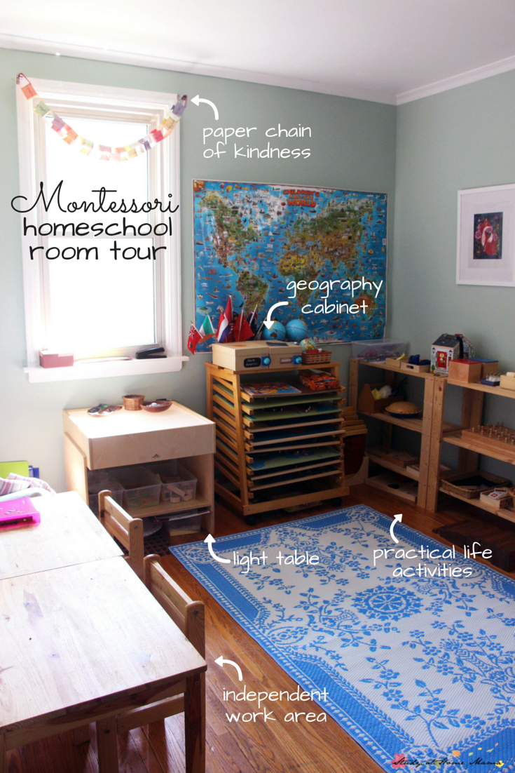 Montessori Homeschool Room Tour Get An Inside Peek Into