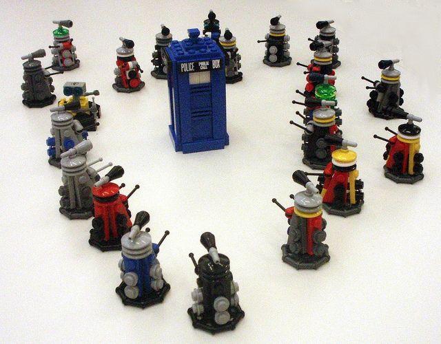 Lego Daleks At Worldcon Spectacular Things Pinterest Legos