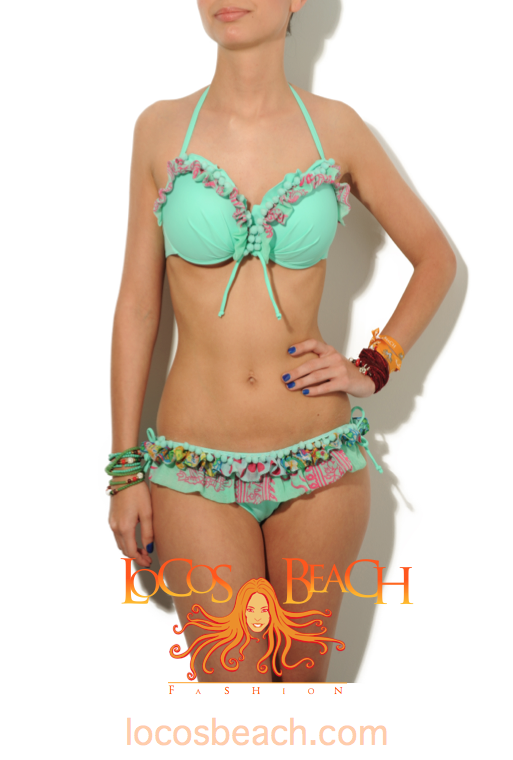 Handcrafted bikinis and beach fashion. Hyper-femenin designs, extremely rare and very exclusive with hand signed tags and serial number. www.locosbeach.com