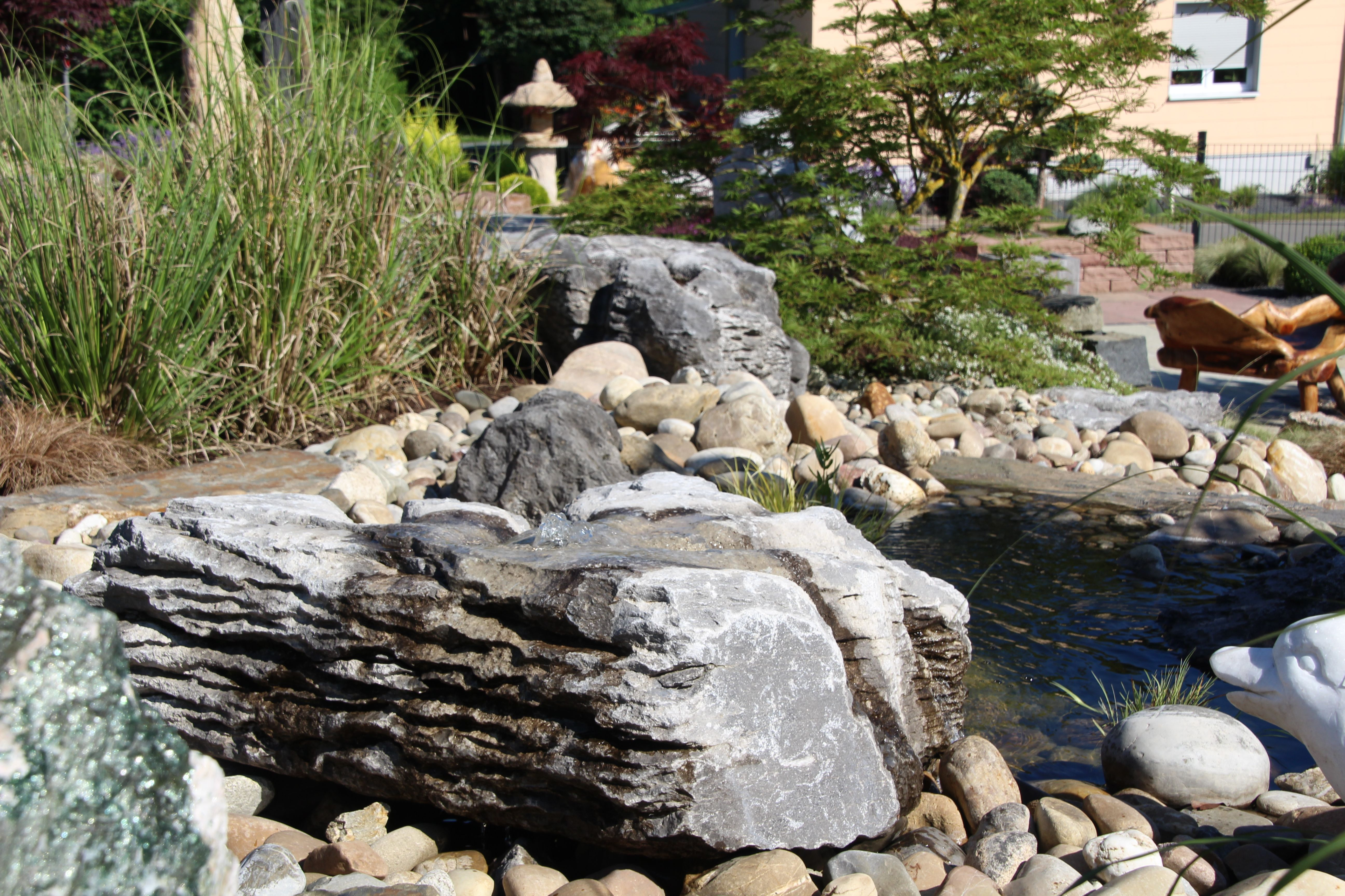 Quellstein Brunnen Selber Bauen Schema