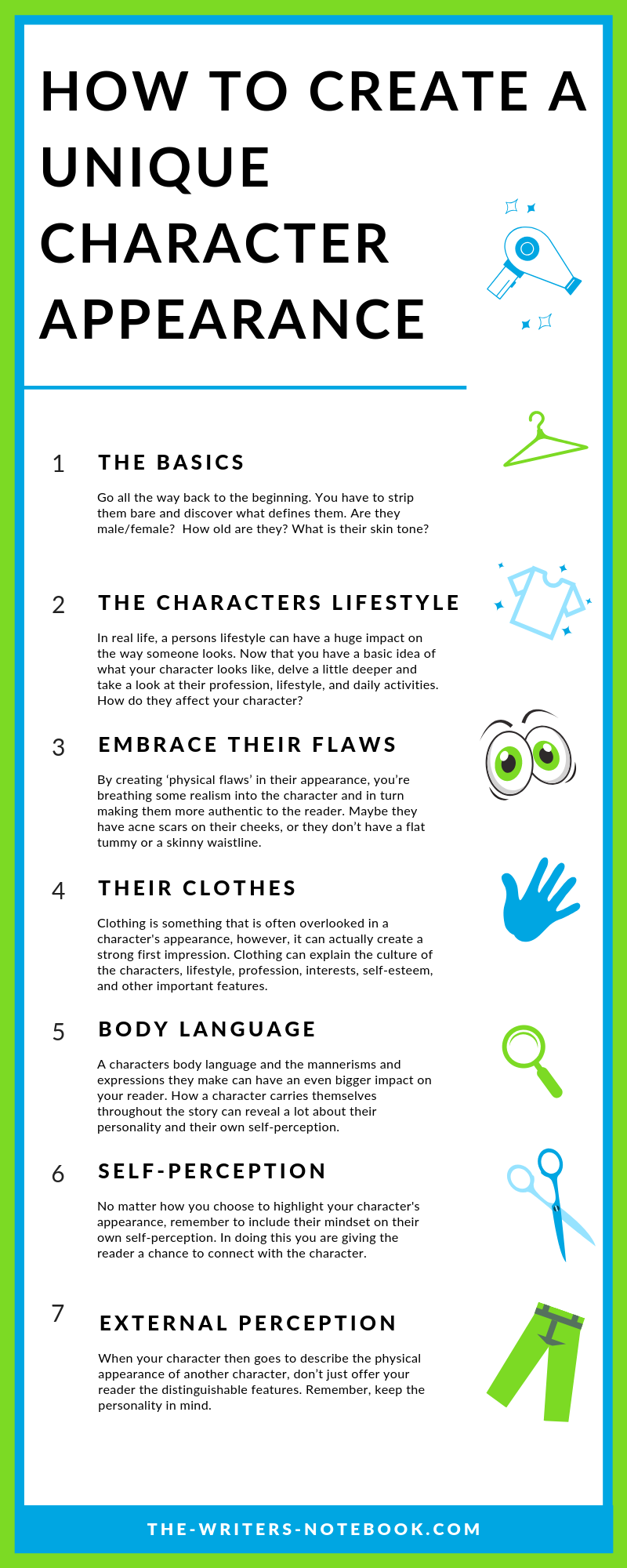 Creating Unique Personalities For Your Characters  #sciencehistory