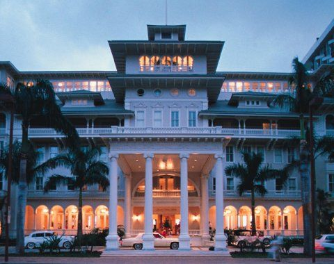 Moana Surfrider Hotel Waikiki Beach Where My Brother And Sister In Law Were Married